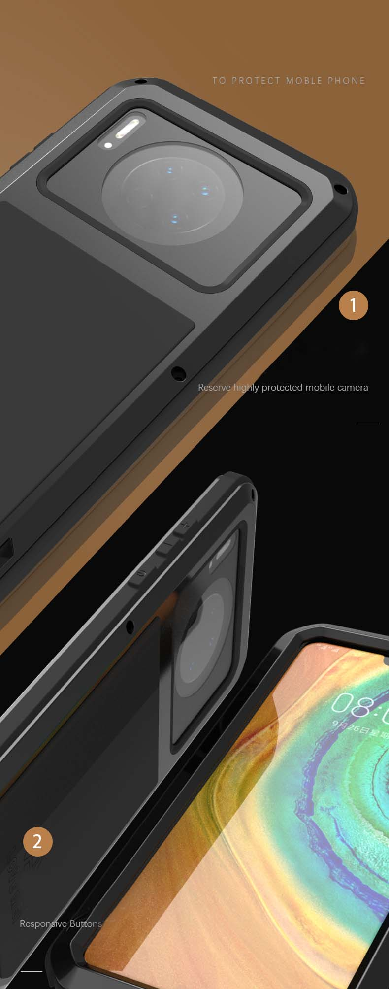 Huawei Mate 30 case