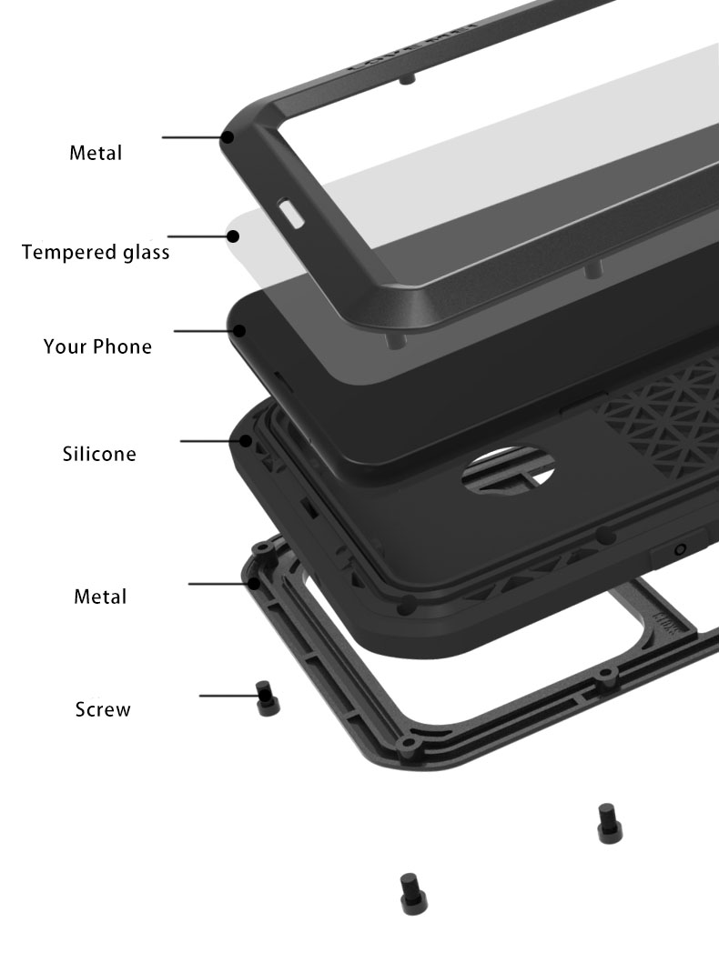 Samsung A8S case