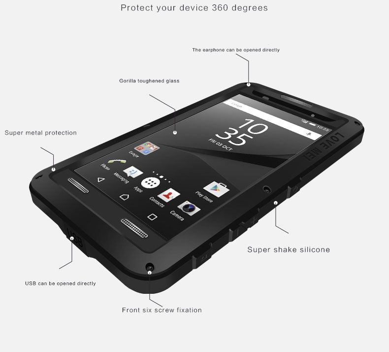 Z5 Compact case