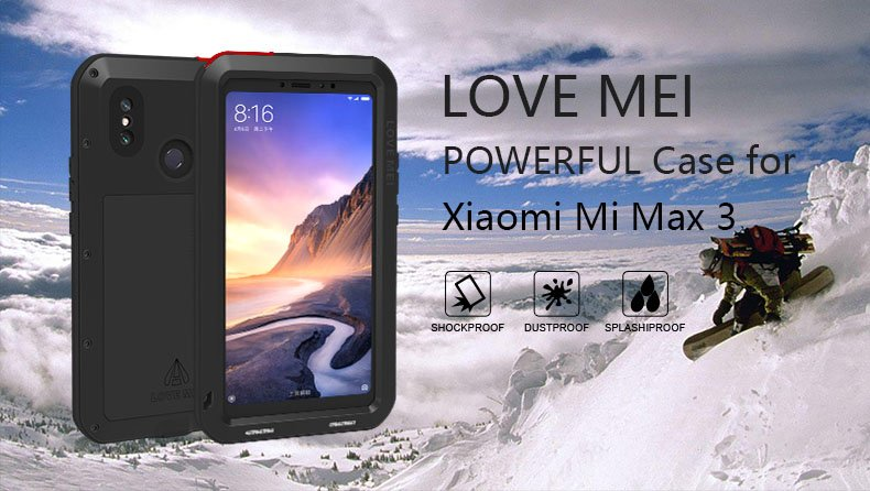 Xiaomi Mi Max 3 case
