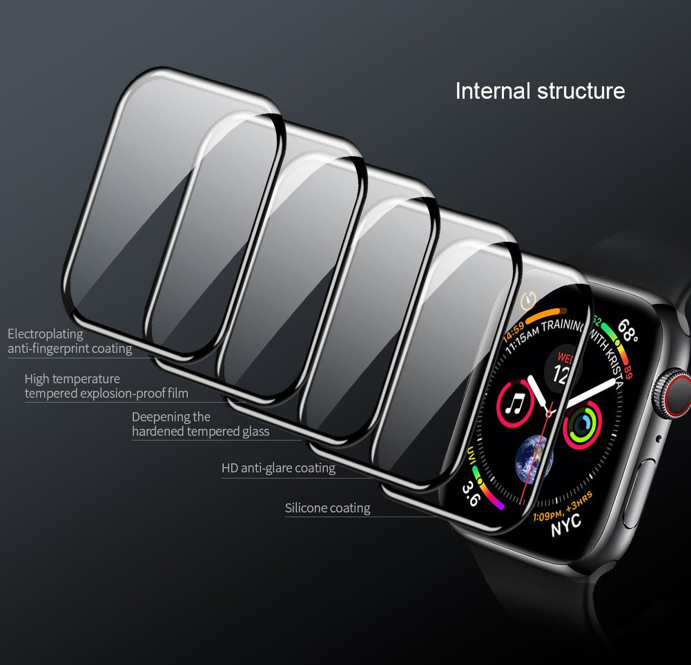 Full Coverage Watch Tempered Protective Film