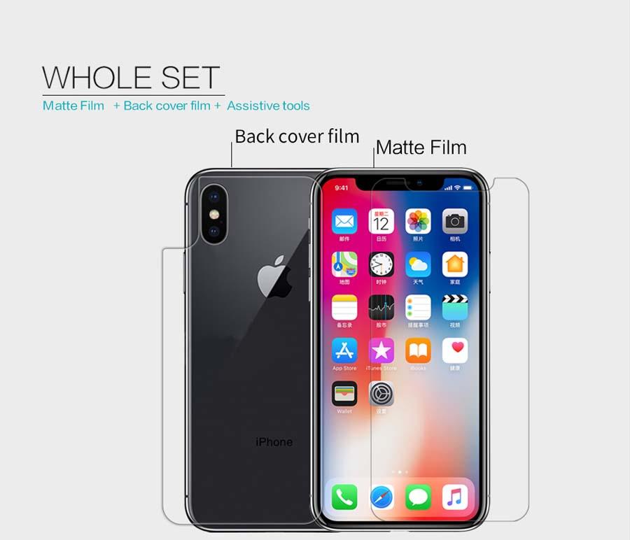 iPhone X screen protector